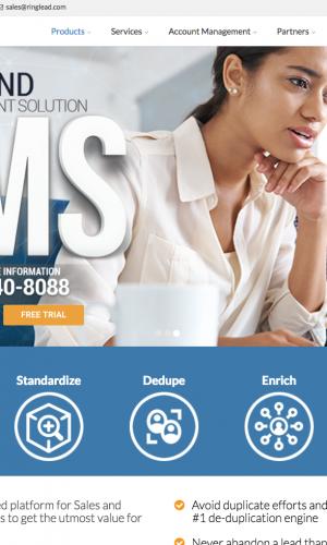 Encore Marketing Group - RingLead Web Design